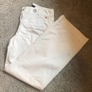 White pants great for summer 100% cotton